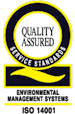 Quality Assured Service Standards - ISO 14001
