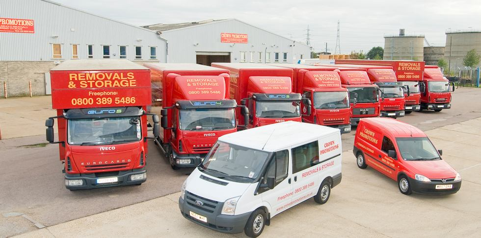 Dedicated Removals Vehicle Fleet